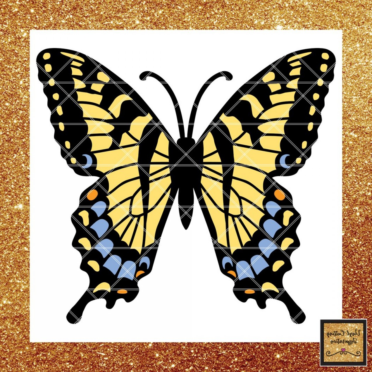 Vector Butterfly Clip Art: Svg Cutting Files For Cricut Svg