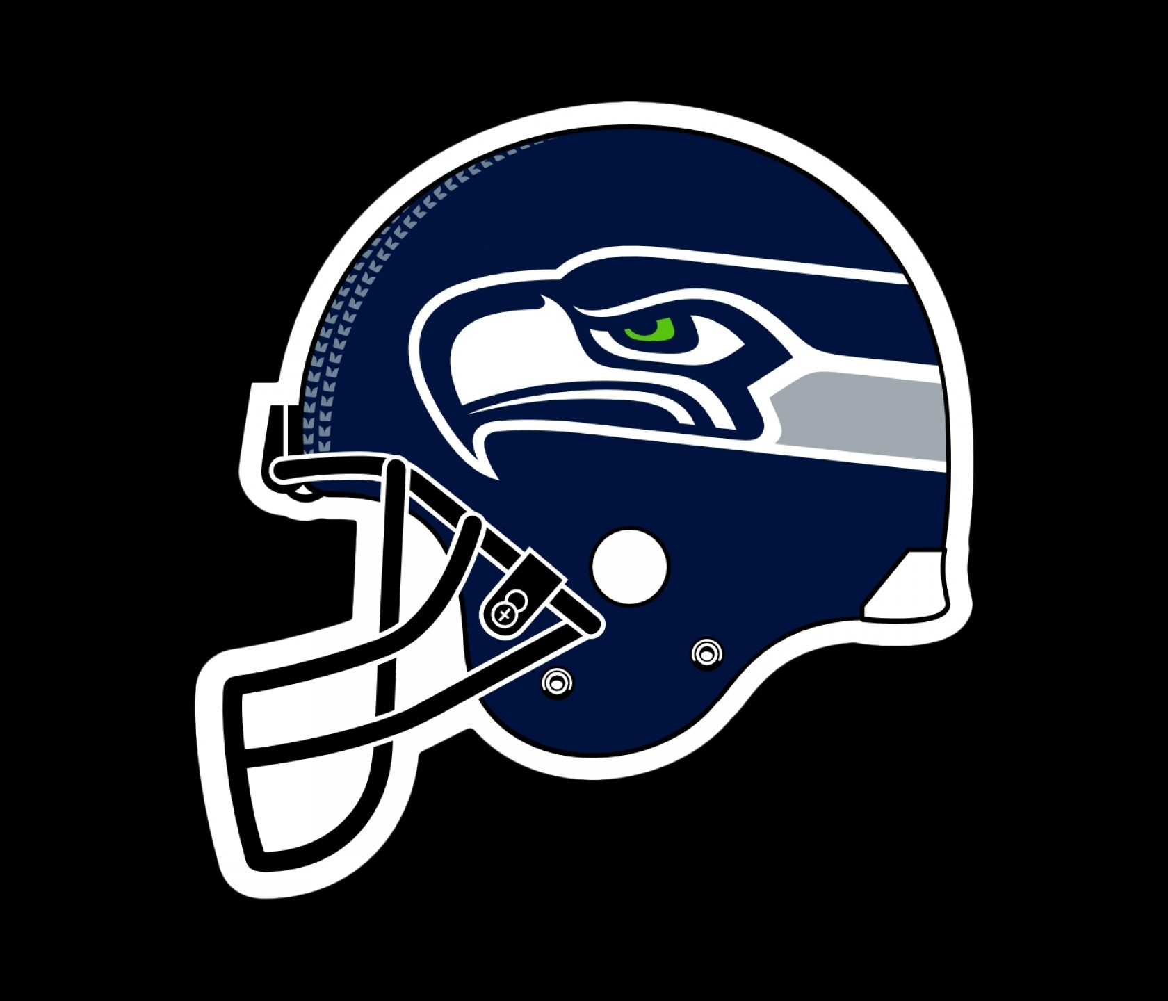Seahawks Helmet Vector: Svg Royalty Free Seattle Seahawks Logo Png Transparent Vector Freebie