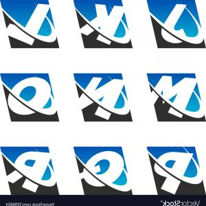 Sports Number 2 Vector: Swoosh Sport Alphabet Logo Icons Set Vector