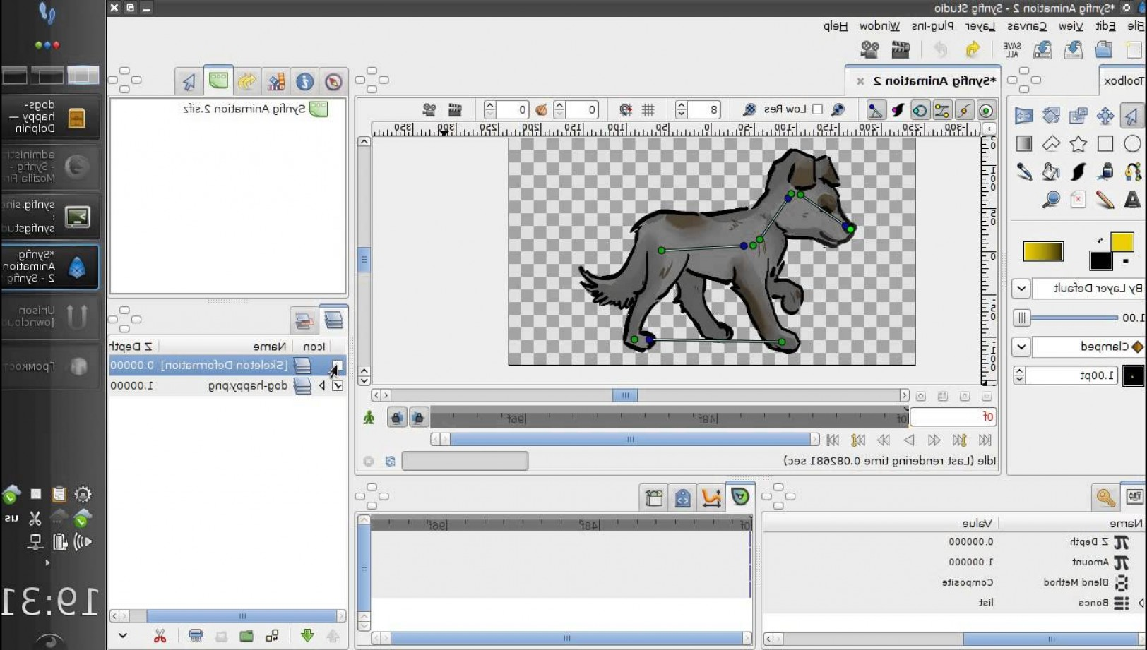 Free Vector File Software: Synfig Software D Vector Animation And