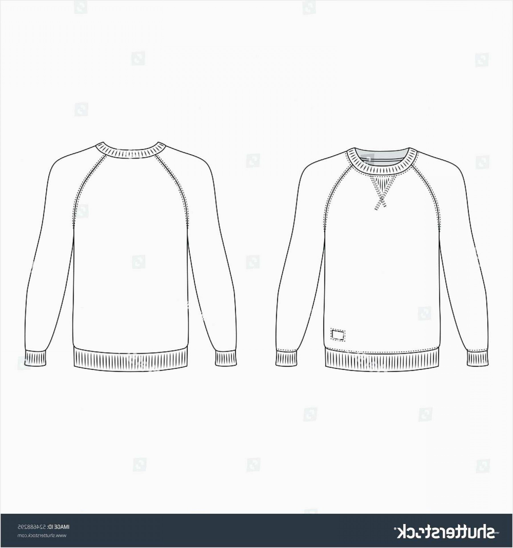 Long Sleeve Jersey Vector Template: T Shirt Vector Template Beautiful Template Long Sleeve Tshirt Template Raglan T Shirt Outlined Front