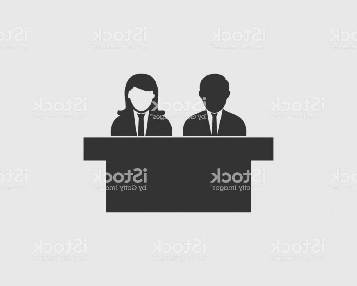 Talk Show Vector: Talk Show Icon On Gray Background Gm