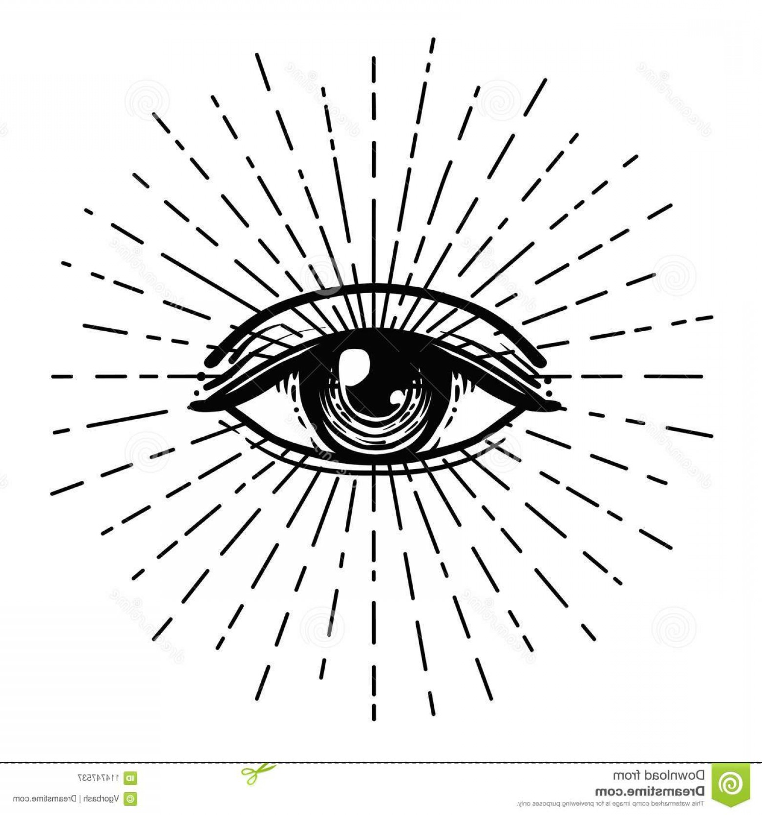 Pyramid With Eye Of Providence Vector: Tattoo Flash Eye Providence Masonic Symbol All Seeing Eye Blackwork Tattoo Flash Eye Providence Masonic Symbol All Seeing Image