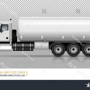 Tank Trucks Vector Art: Tanker Truck Vector Template Car Branding