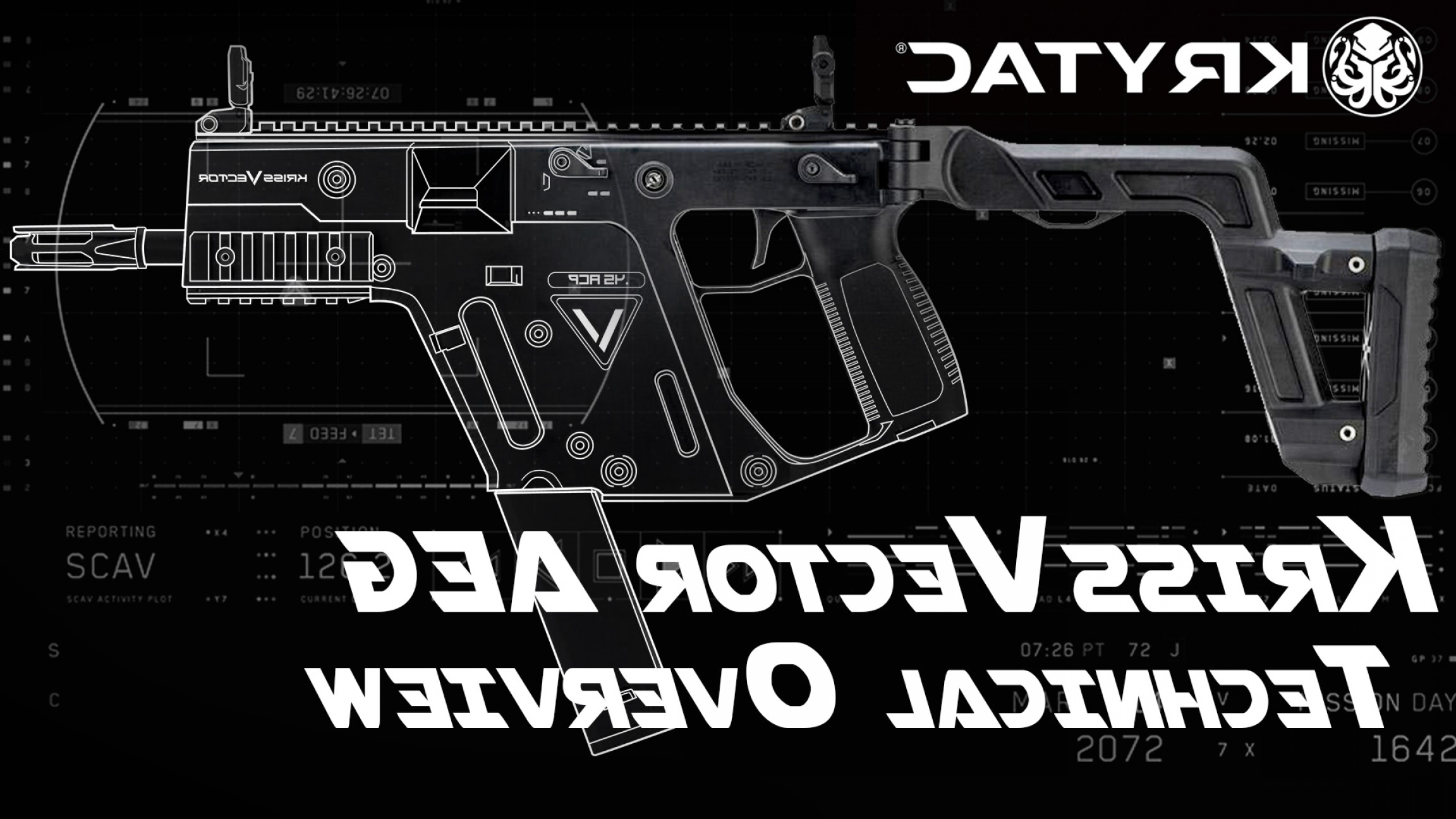 Kriss Vector Rear Grip: Technical Overview Krytac Kriss Vector Aeg