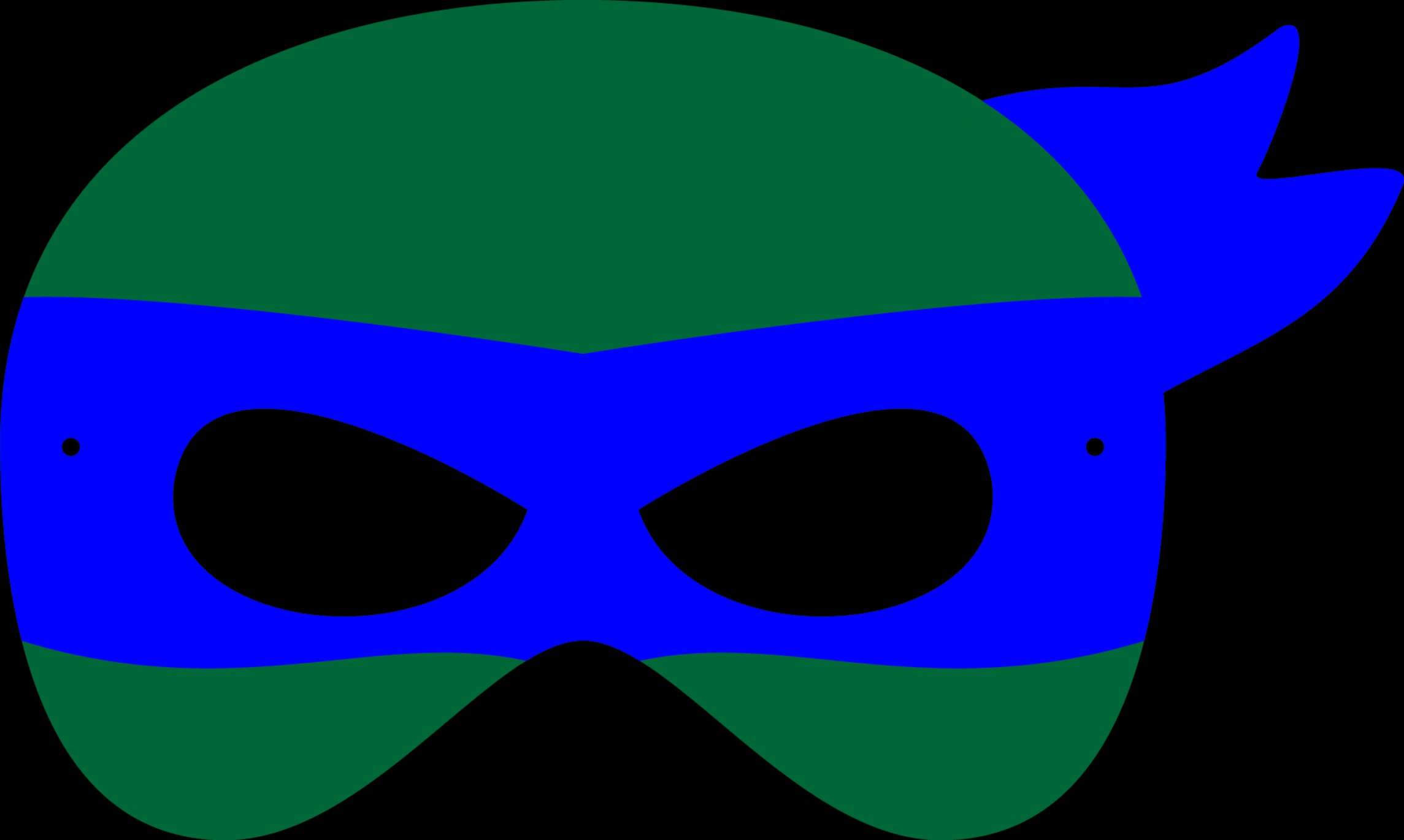 TMNT Logo Vector: Teenage Mutant Ninja Turtles Faces Clipart