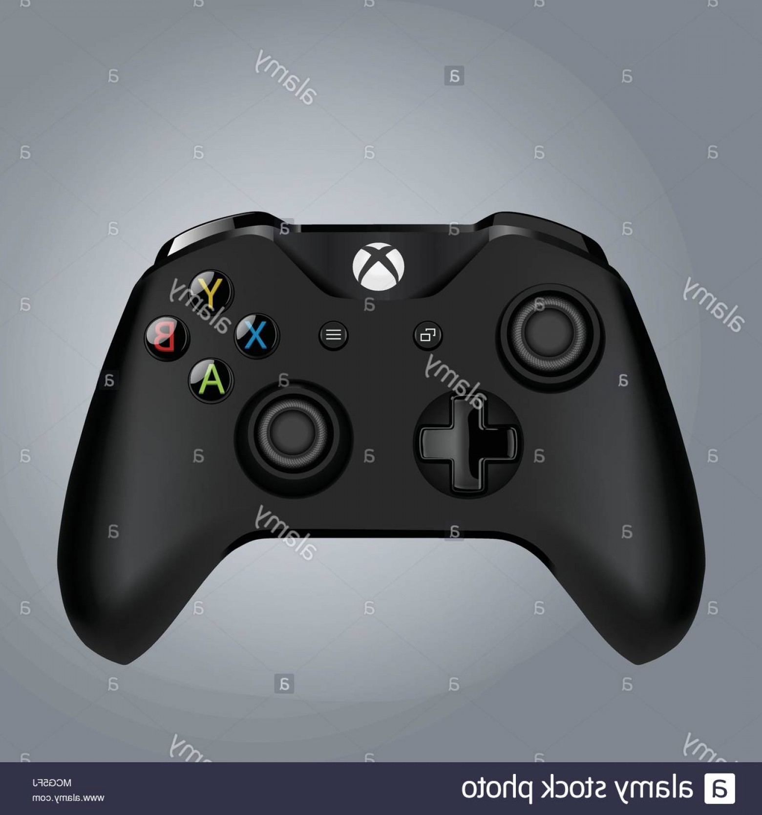 Xbox Game Controller Vector: Tehran Province Iran February Computer Game Controller Vector Illustration Gaming Concept Image