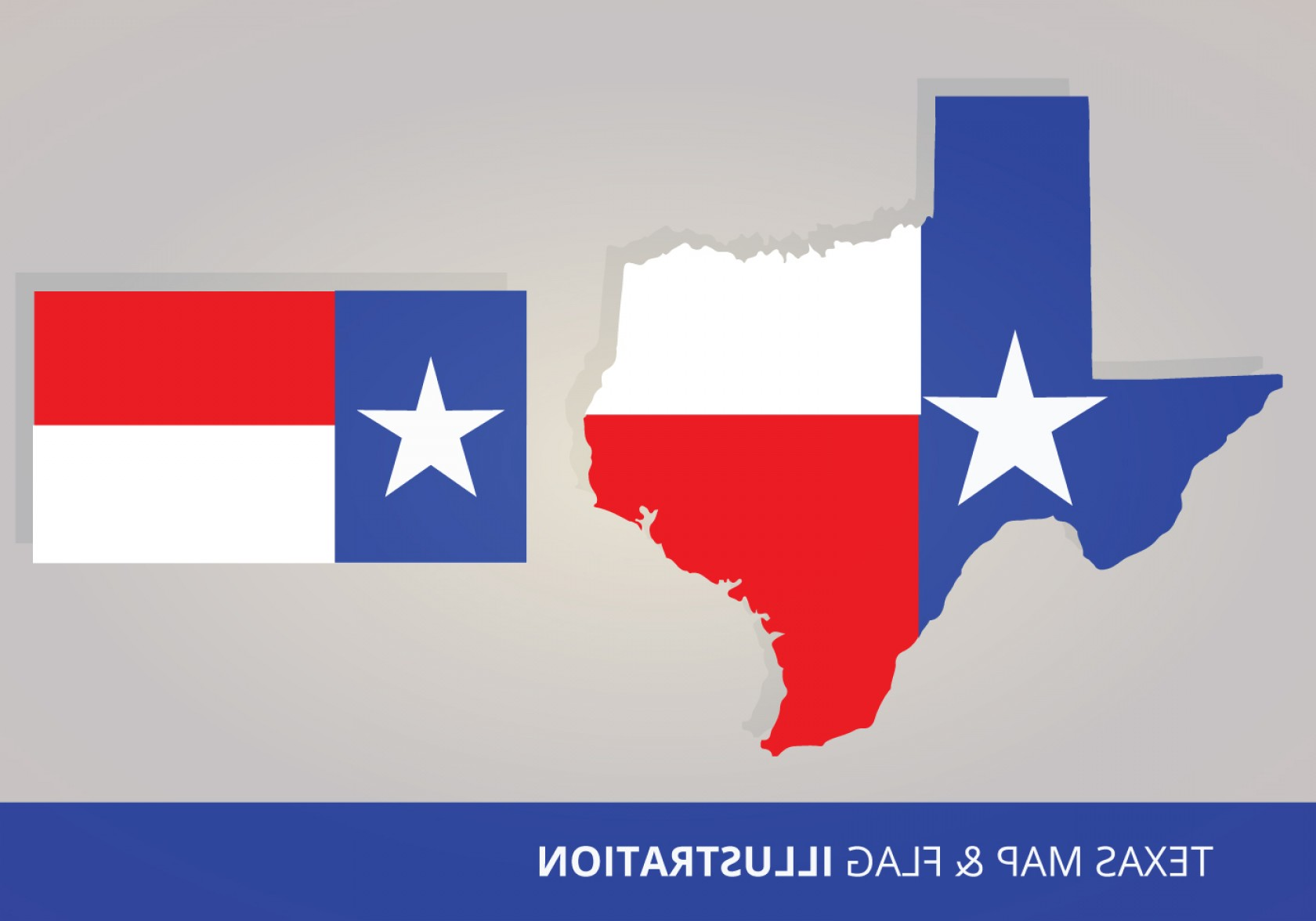 Texas Flag Vector Art: Texas Flag And Map Vectors