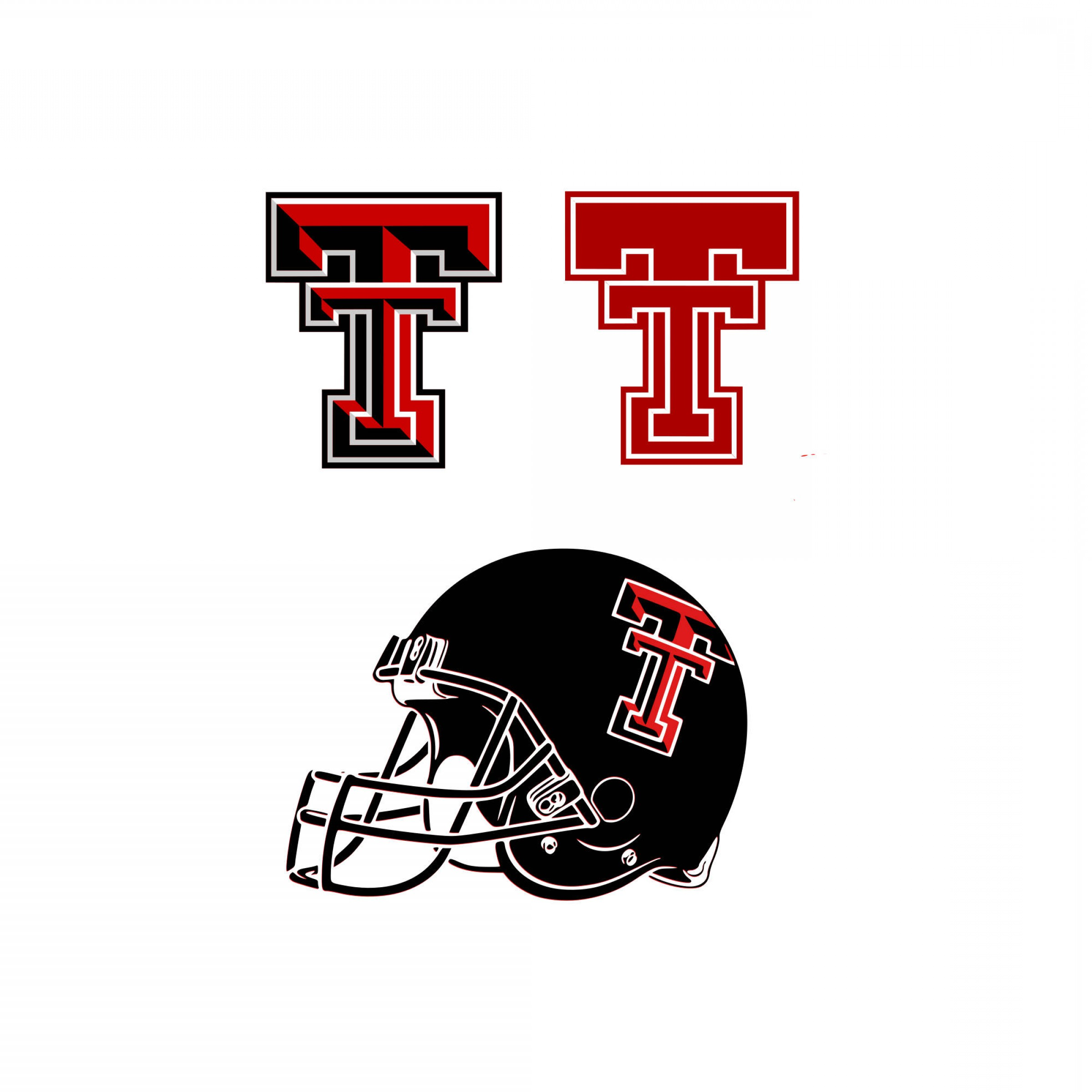 Texas Tech Logo Vector Graphic: Texas Tech Svg Texas Svg University Svg