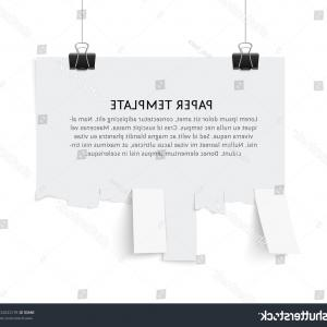 Vector Tear Away: Photovector Calendar With Flying Away Pages On White Background