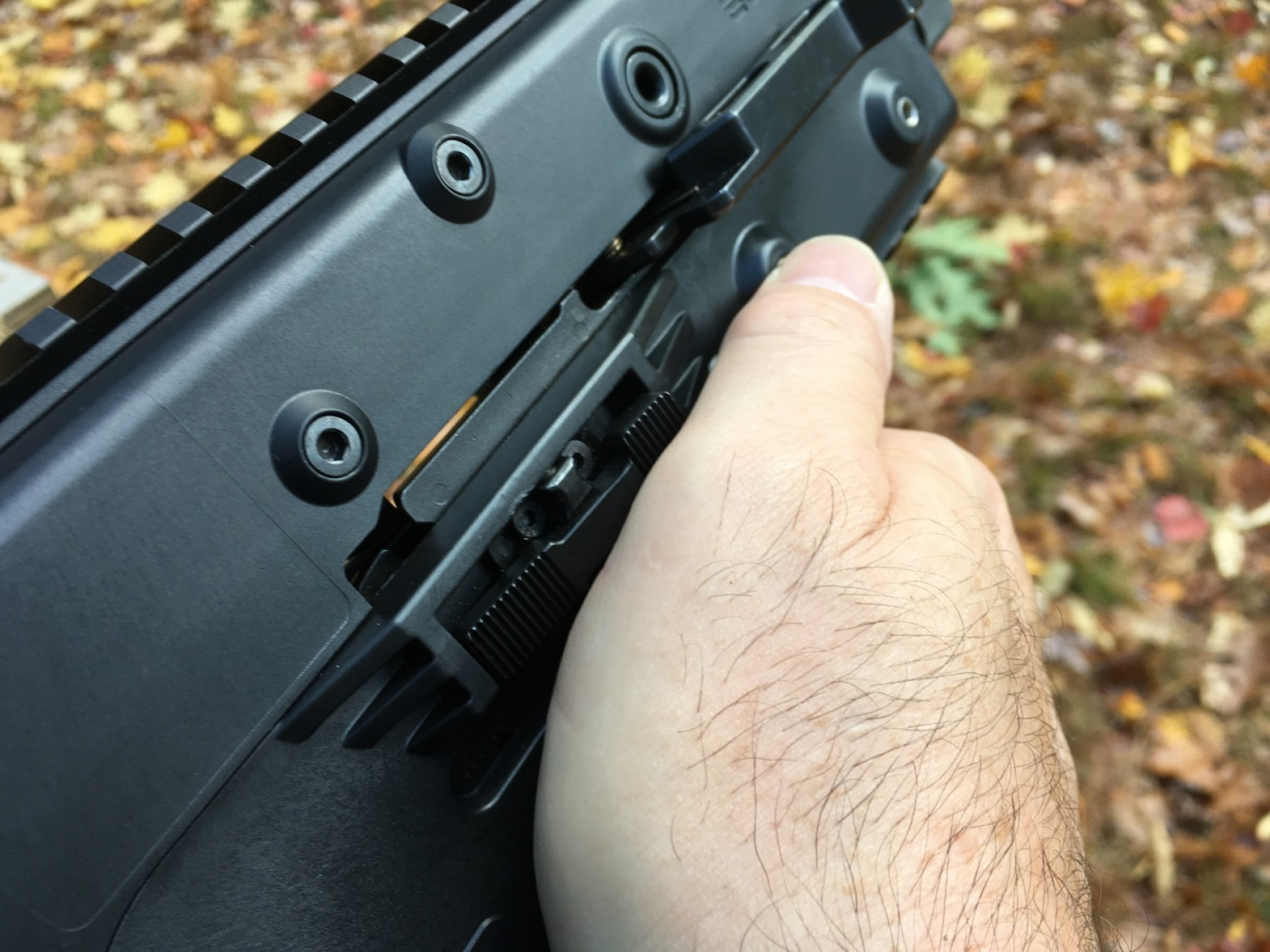 Kriss Vector Rear Grip: Tfb Review Kriss Vector In Mm