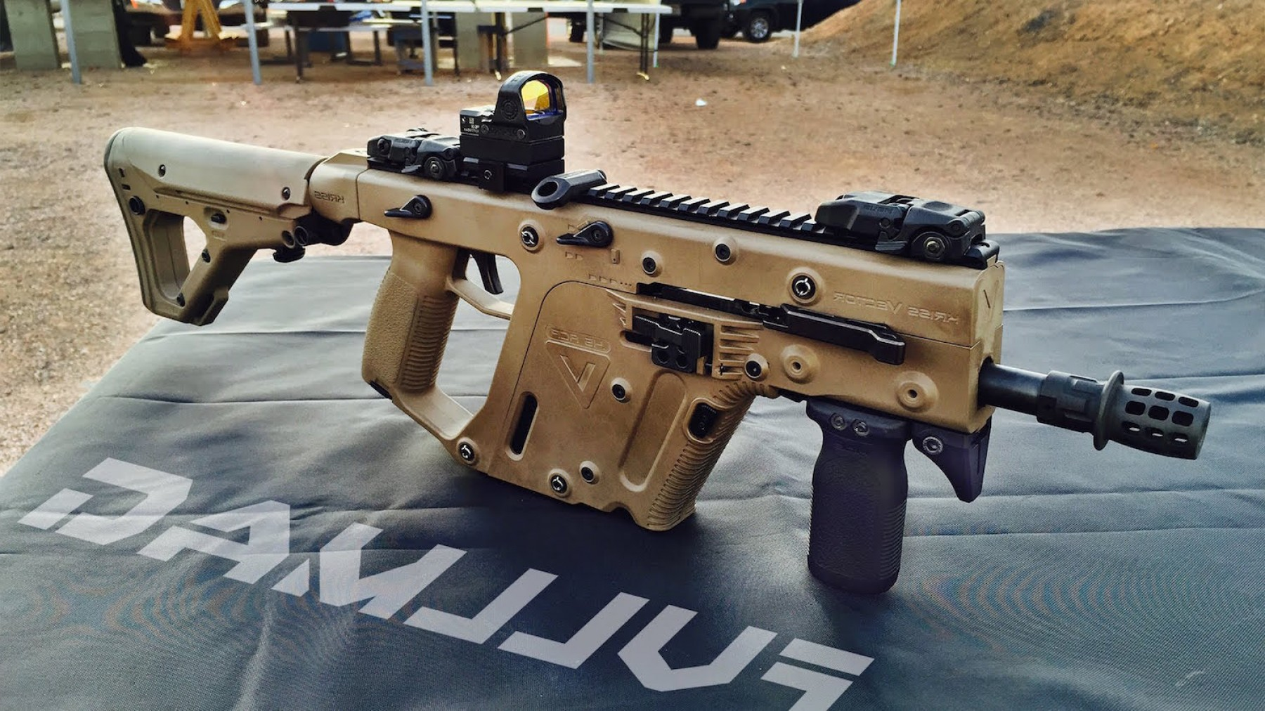 New Kriss Vector: The Head Turning Innovation Behind The Kriss Vector