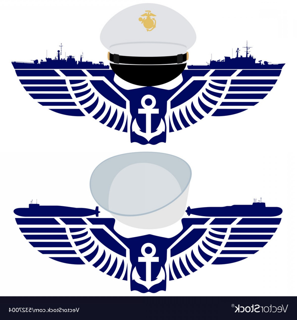 U S. Navy Logo Vector: The Icons Of The Us Navy Vector