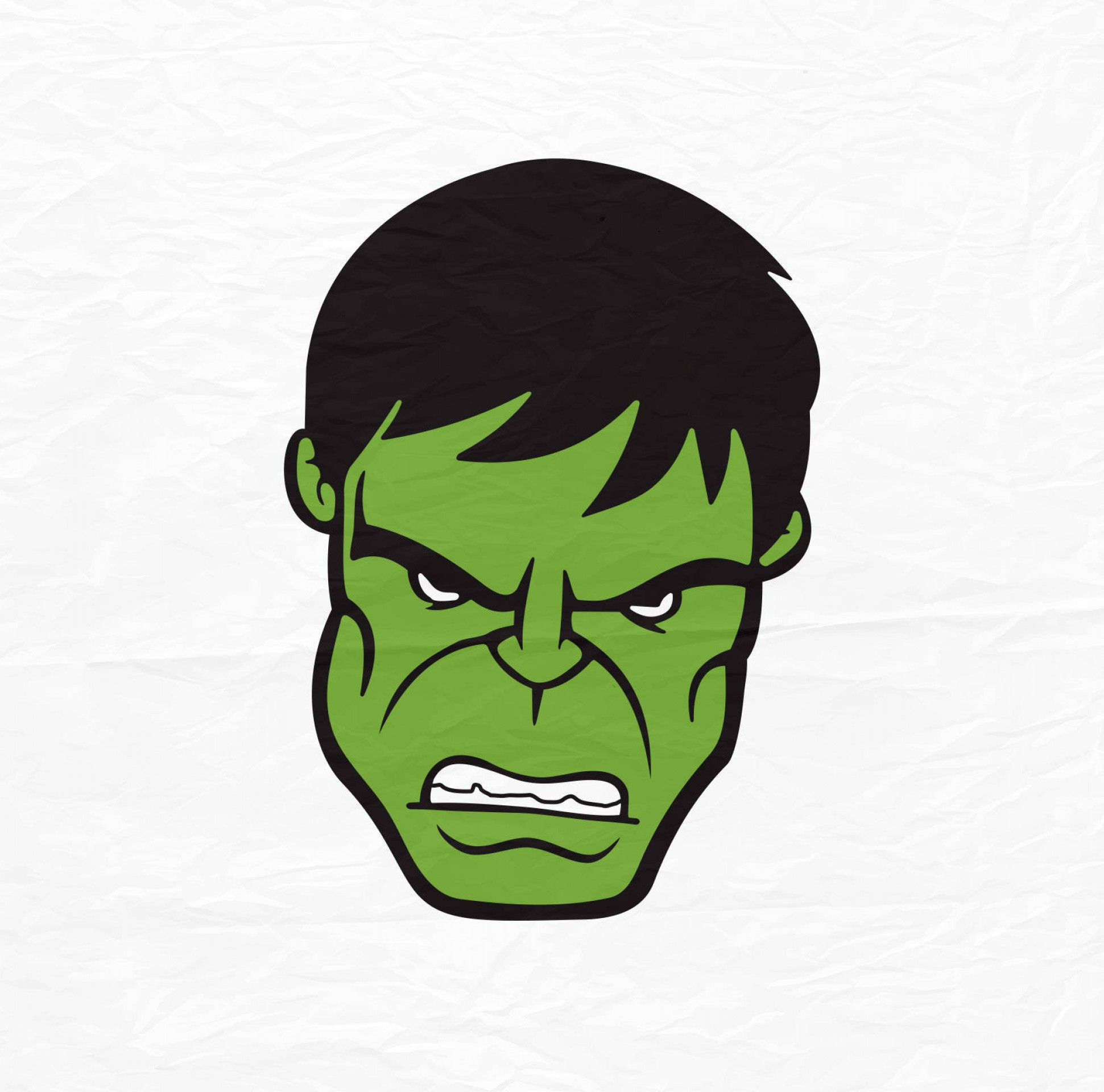 Hulk Origional Vectors: The Incredible Hulk Face Hulk Face Svg