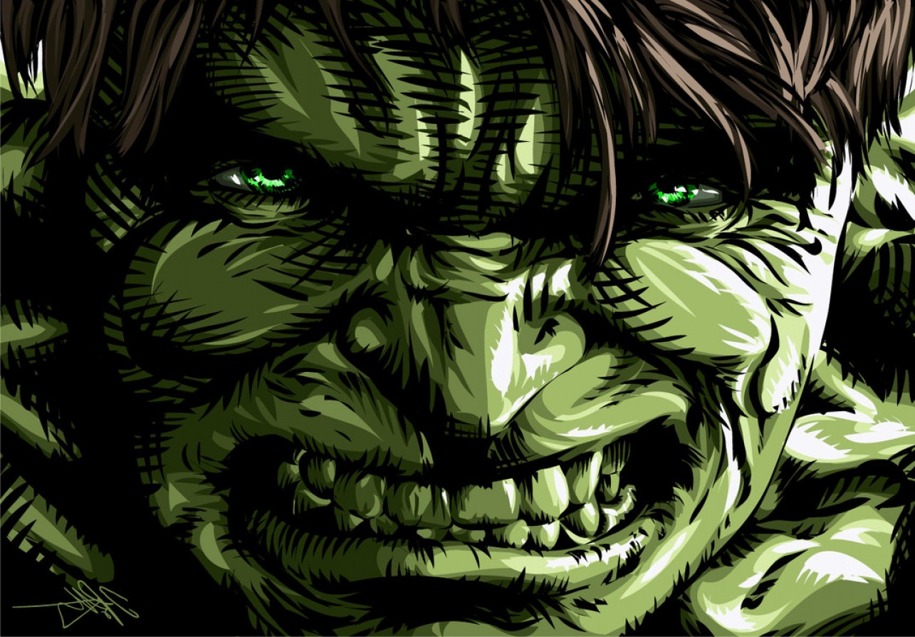 Hulk Origional Vectors: The Incredible Hulk Vs The Thing Not What You Thin