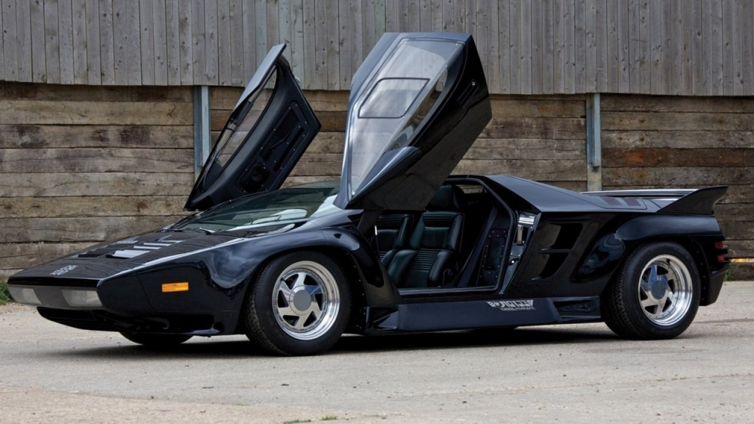 Rare 1990 Vector W8: The Vector W Is An American Supercar Produced
