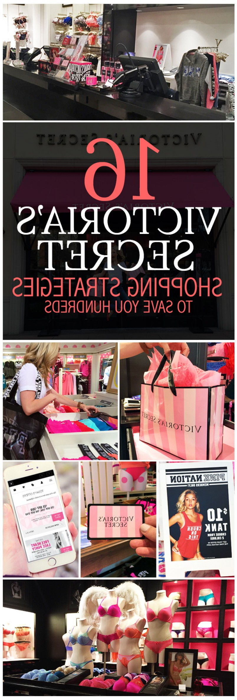 Victoria's Secret Pink Vector: These Victorias Secret Shopping Strategies Will Save You Hundreds