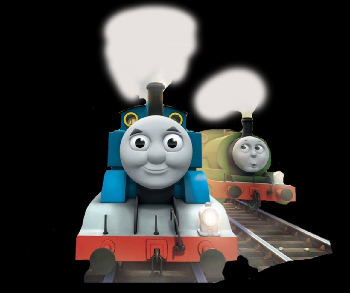 Thomas And Thomas Vector: Thomas And Percy Tale Of The Brave Promo Vector