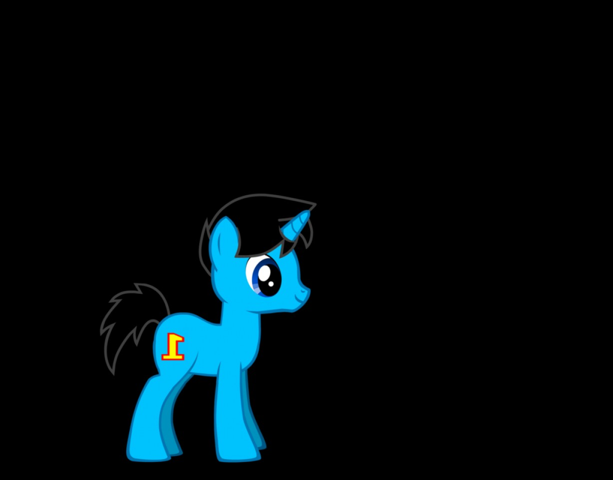 Thomas And Thomas Vector: Thomas The Blue Pony Thomas Goes To Equestria
