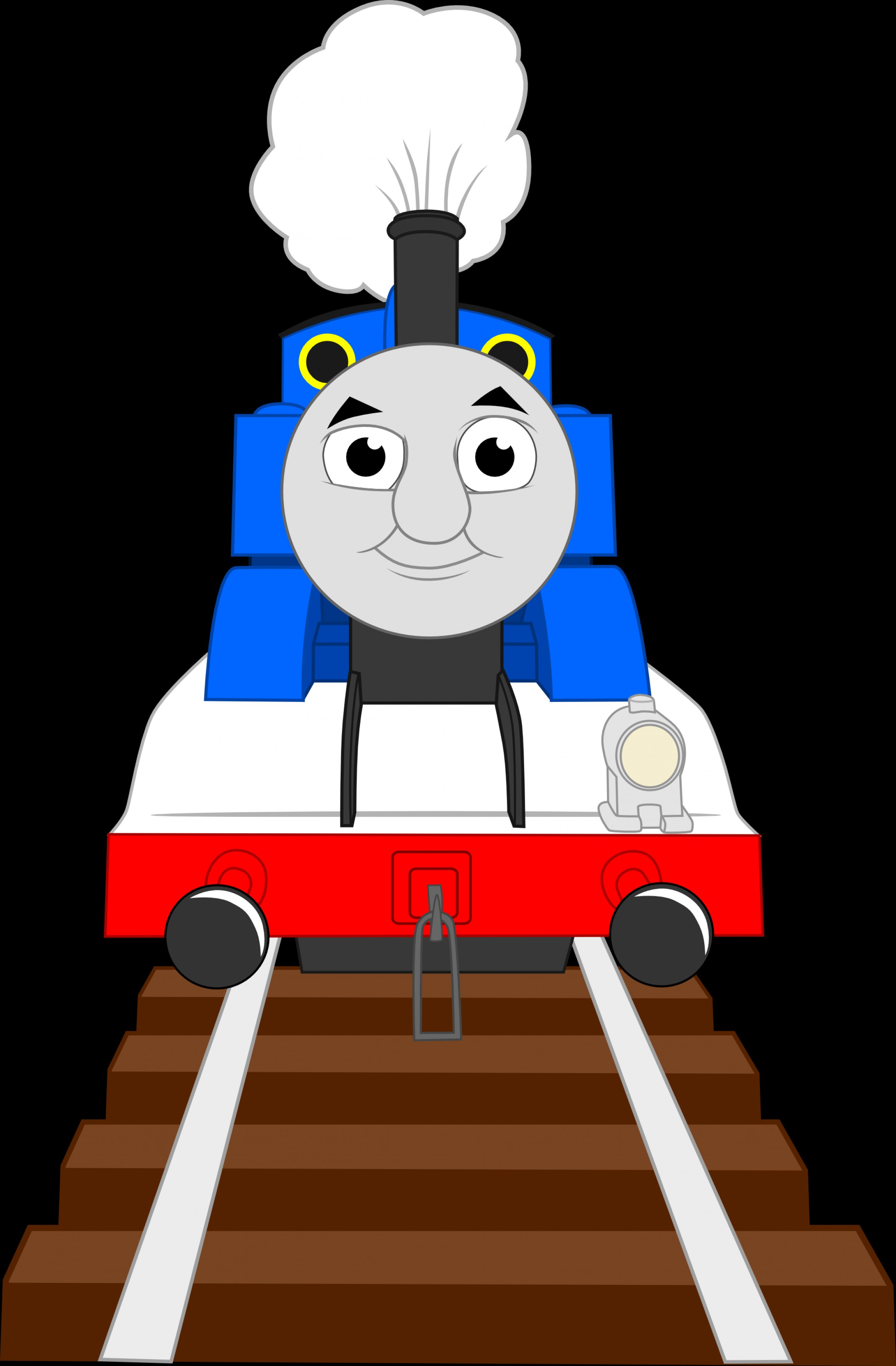 Thomas And Thomas Vector: Thomas The Tank Engine Vectored