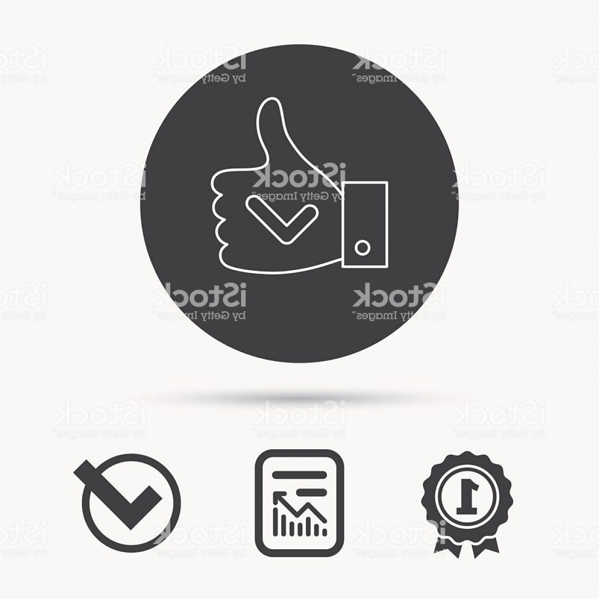 Cool Logo Icon Vector: Thumb Up Like Icon Super Cool Vote Sign Gm