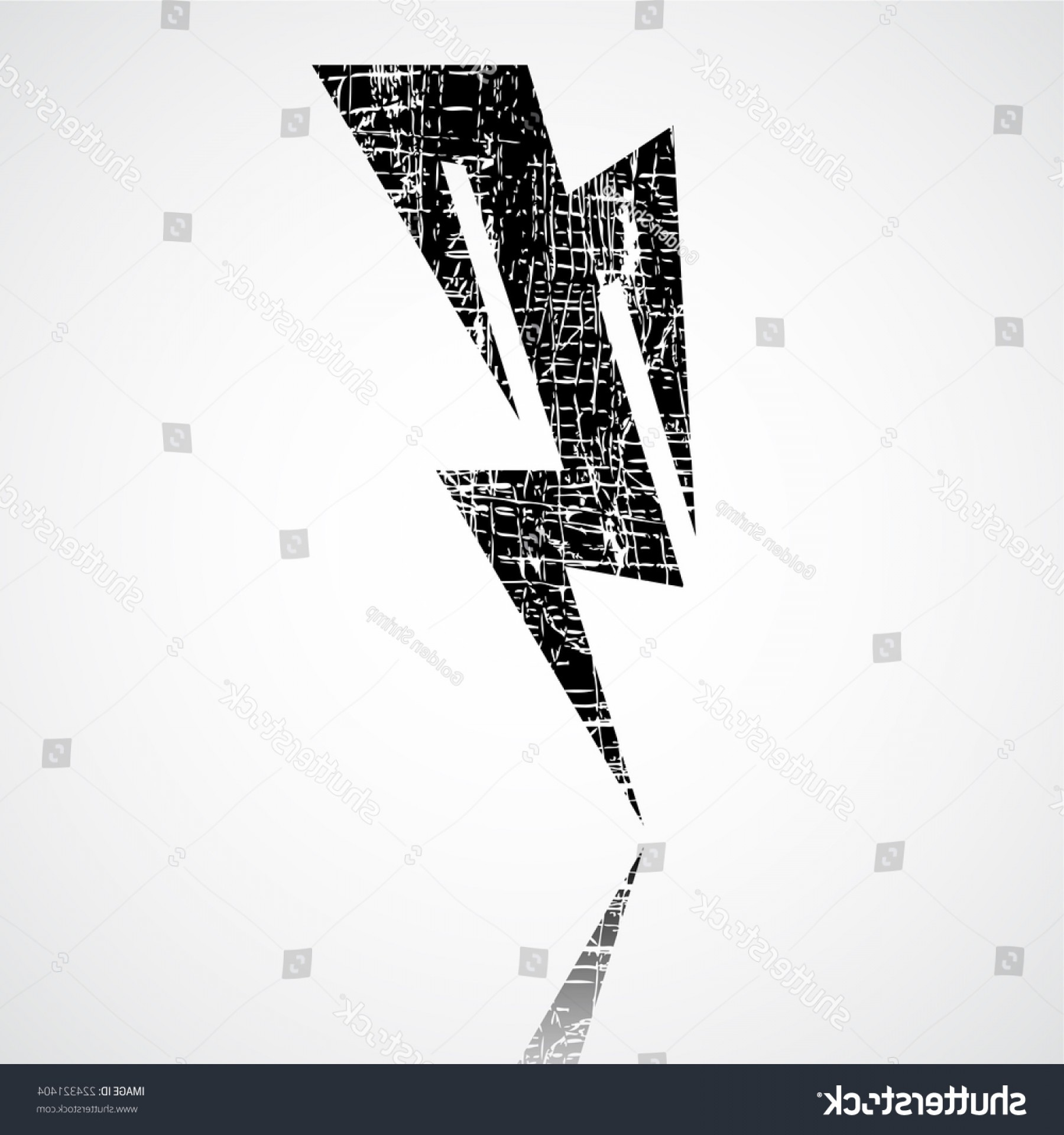 Vector Lightning Bolt Tribe: Thunderstorm Lightning Bolt Thunder Grunge Vector
