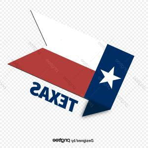 Republic Of Texas Flag Vector: Tilt Texas State Flag Label Sticker
