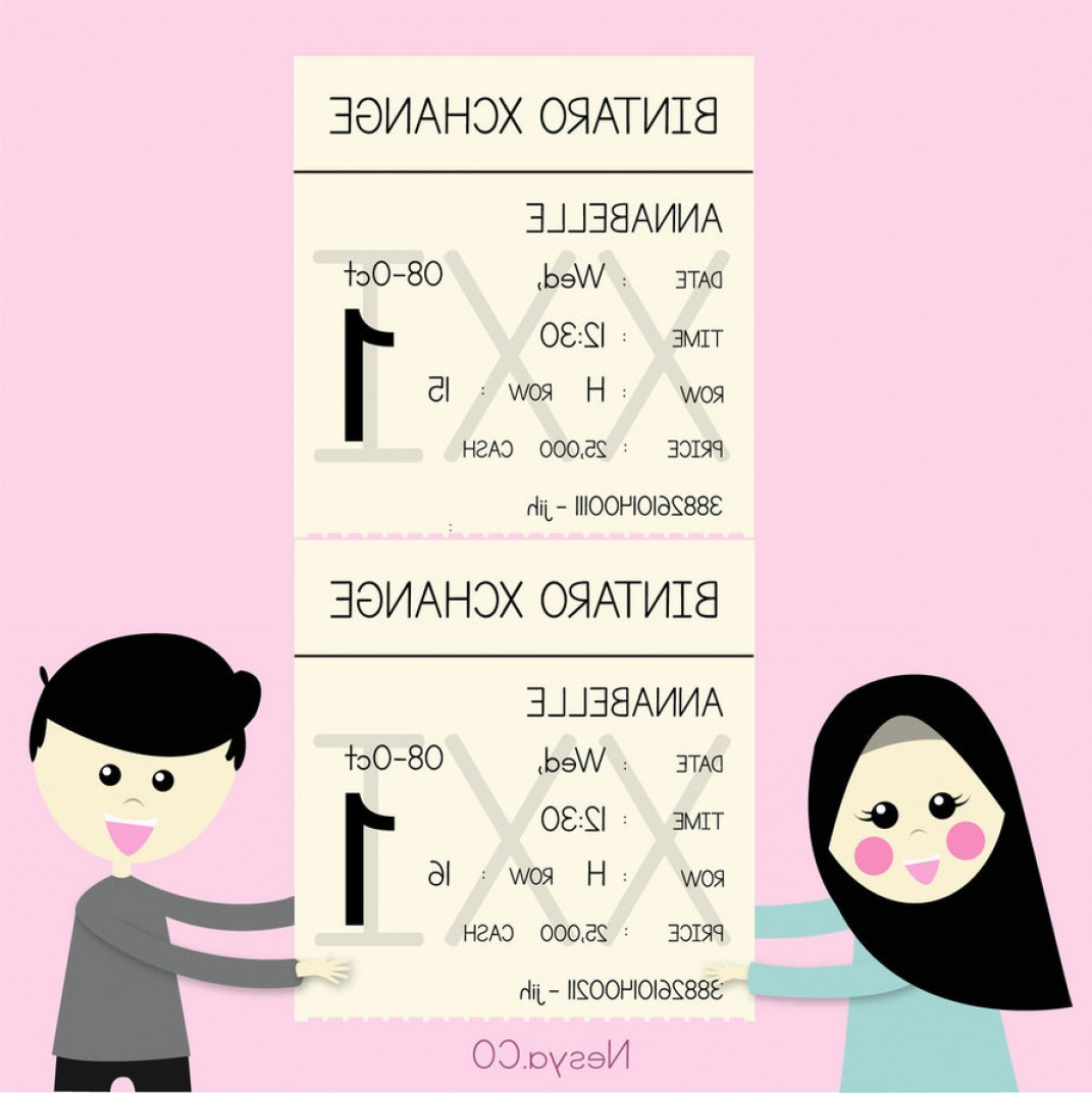 Nala Vector: Ticket Xxi Vector Me And You