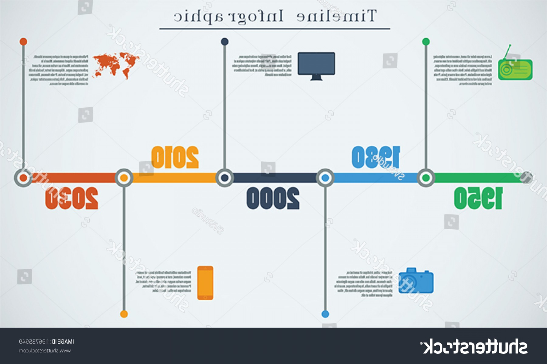 The Storm Vector Layout System: Timeline Infographic Vector Design Template