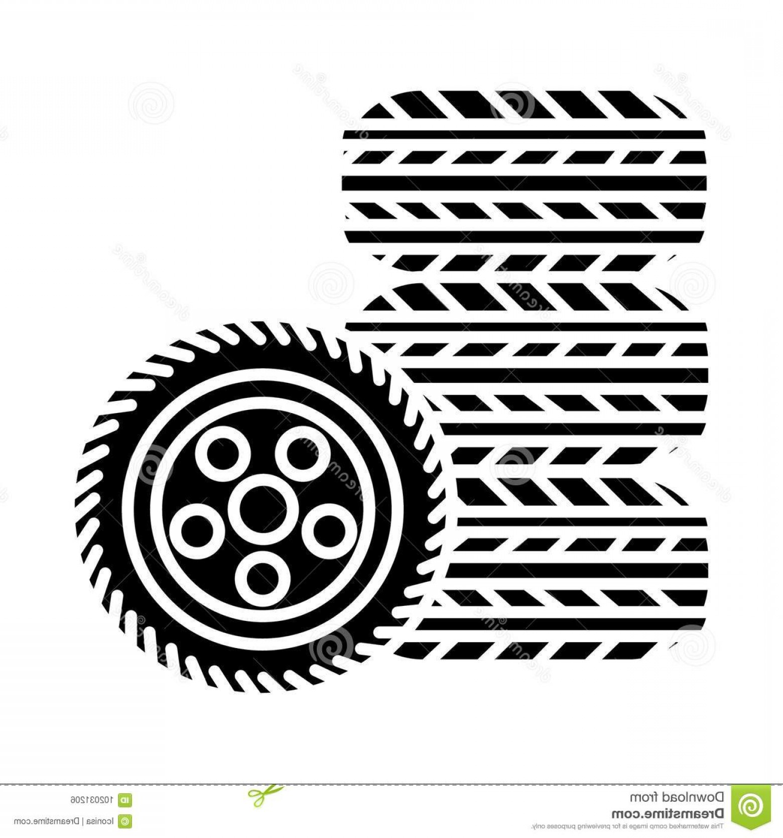Tire Icon Vector: Tires Tire Service Icon Illustration Vector Sign Isolated Background Tires Tire Service Icon Vector Illustration Black Sign Image