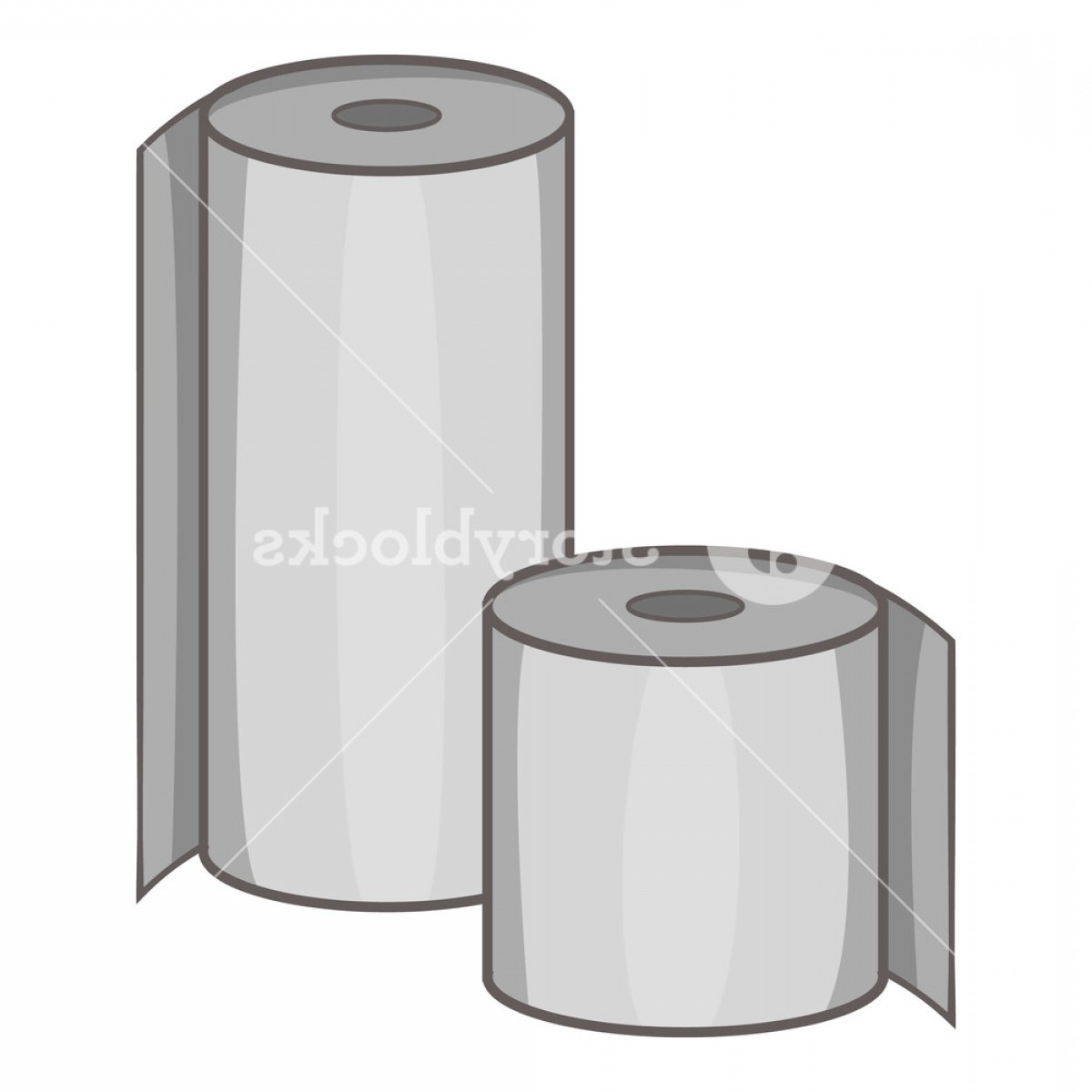 Toilet Paper Vector: Toilet Paper Icon Cartoon Illustration Of Toilet Paper Vector Icon For Web Rsxndhpxjlgjydxd