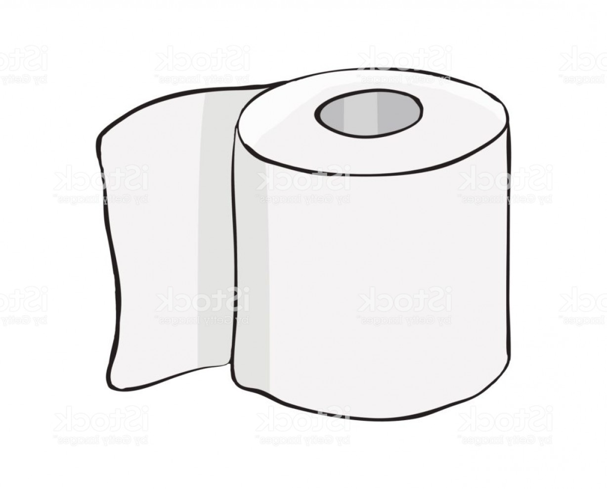 Toilet Paper Vector: Toilet Paper Roll Vector Symbol Icon Design Beautiful Illustration Isolated On White Gm