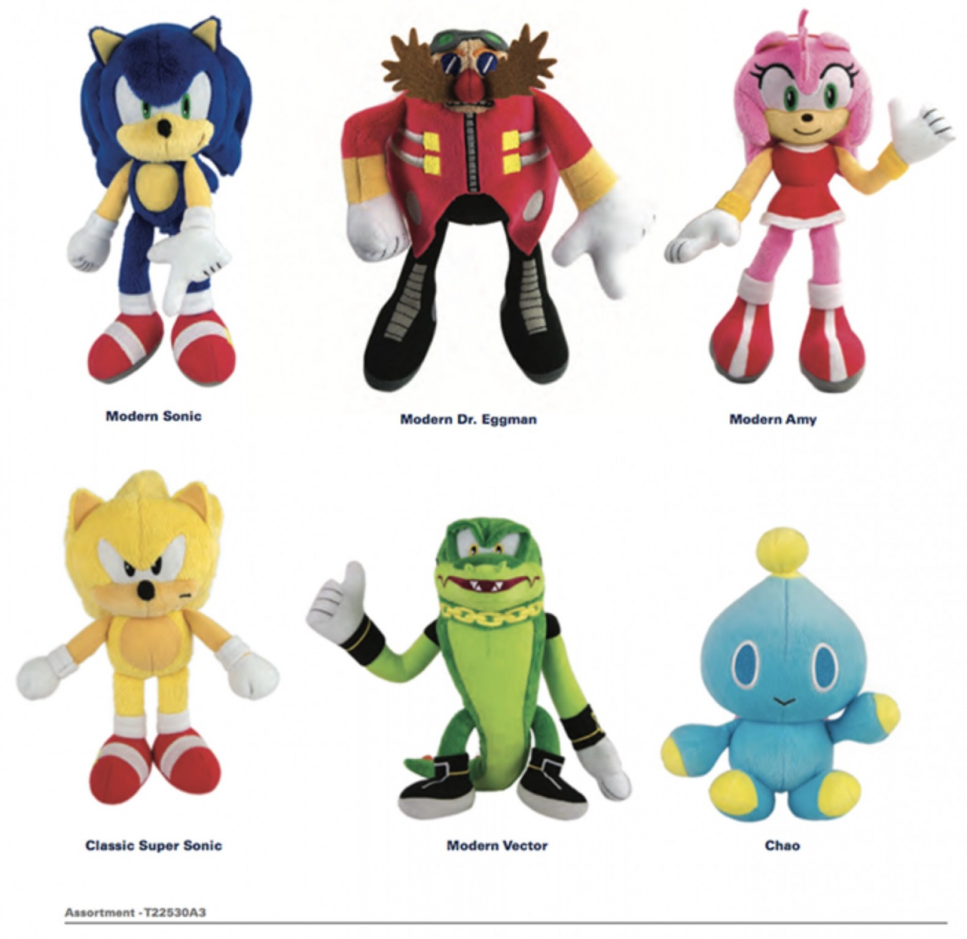 Vector And Espio Toy: Tomy Reveals New Sonic The Hedgehog Action Figures Plush Toys And Comic Books For