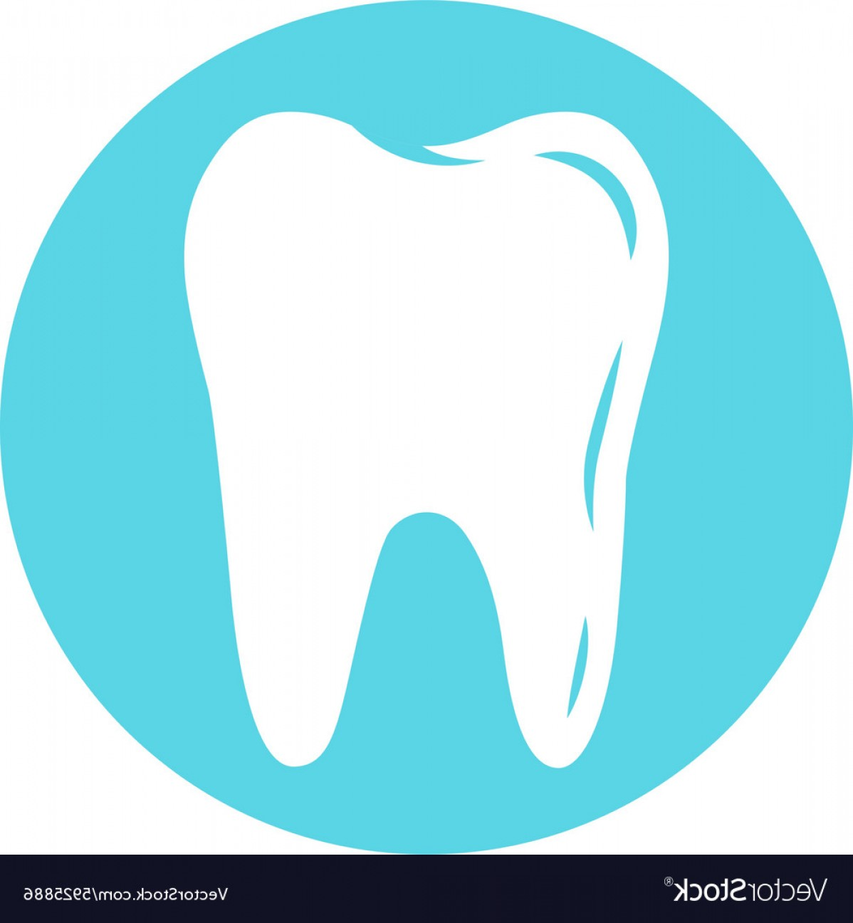 Tooth Vector Logo: Tooth Logo For Dental Company Vector