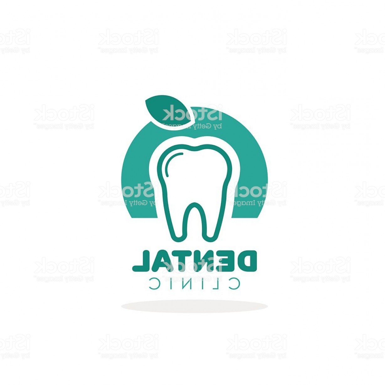 Tooth Vector Logo: Tooth Vector Logo For Dental Clinic Gm
