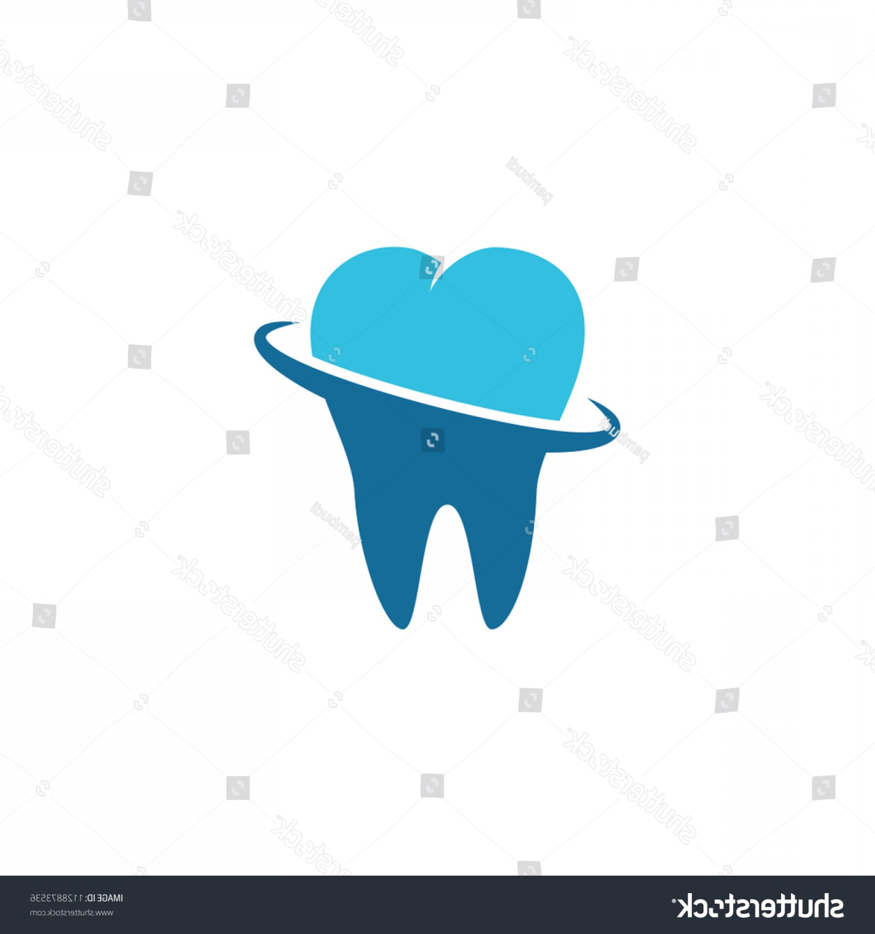 Tooth Vector Logo: Tooth Vector Logo Template Dental