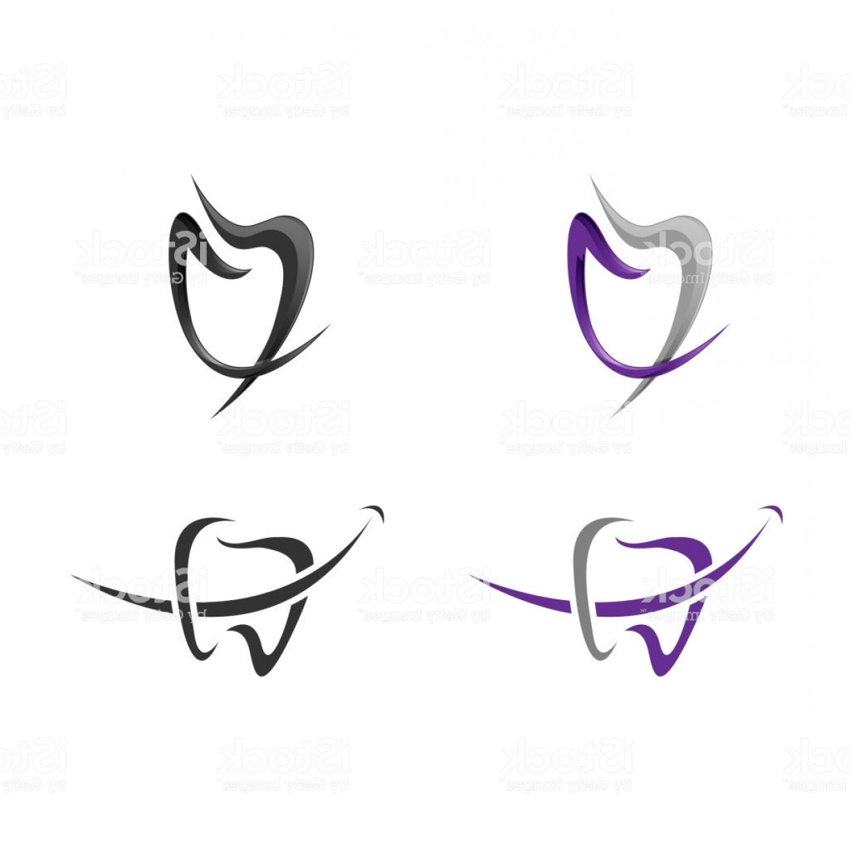 Tooth Vector Logo: Tooth Vector Logo Template Gm