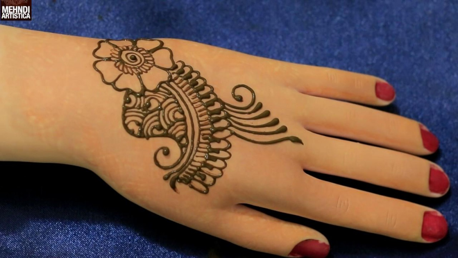 Vector Art Henna: Top Easy Henna Designs For Beginners Vector File Free