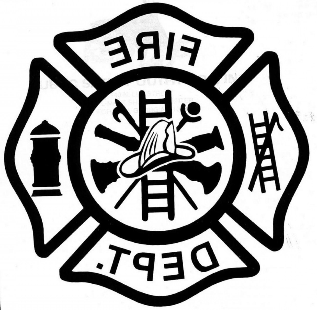 Fire Fighter Logo Vector: Top Fire Station Logos Vector Image