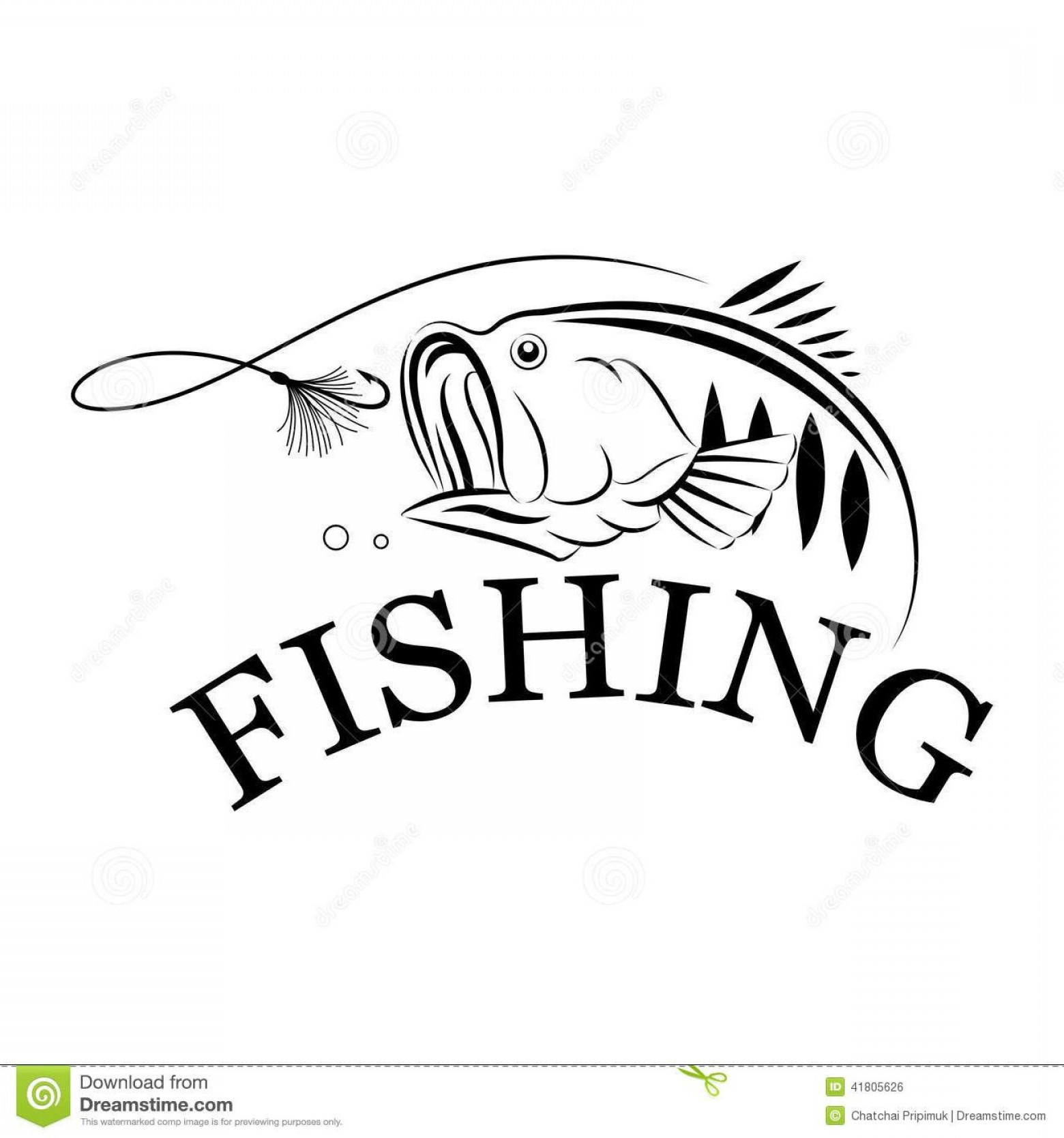 Fish Vector Graphic: Top Fish Graphic Design Vector Drawing