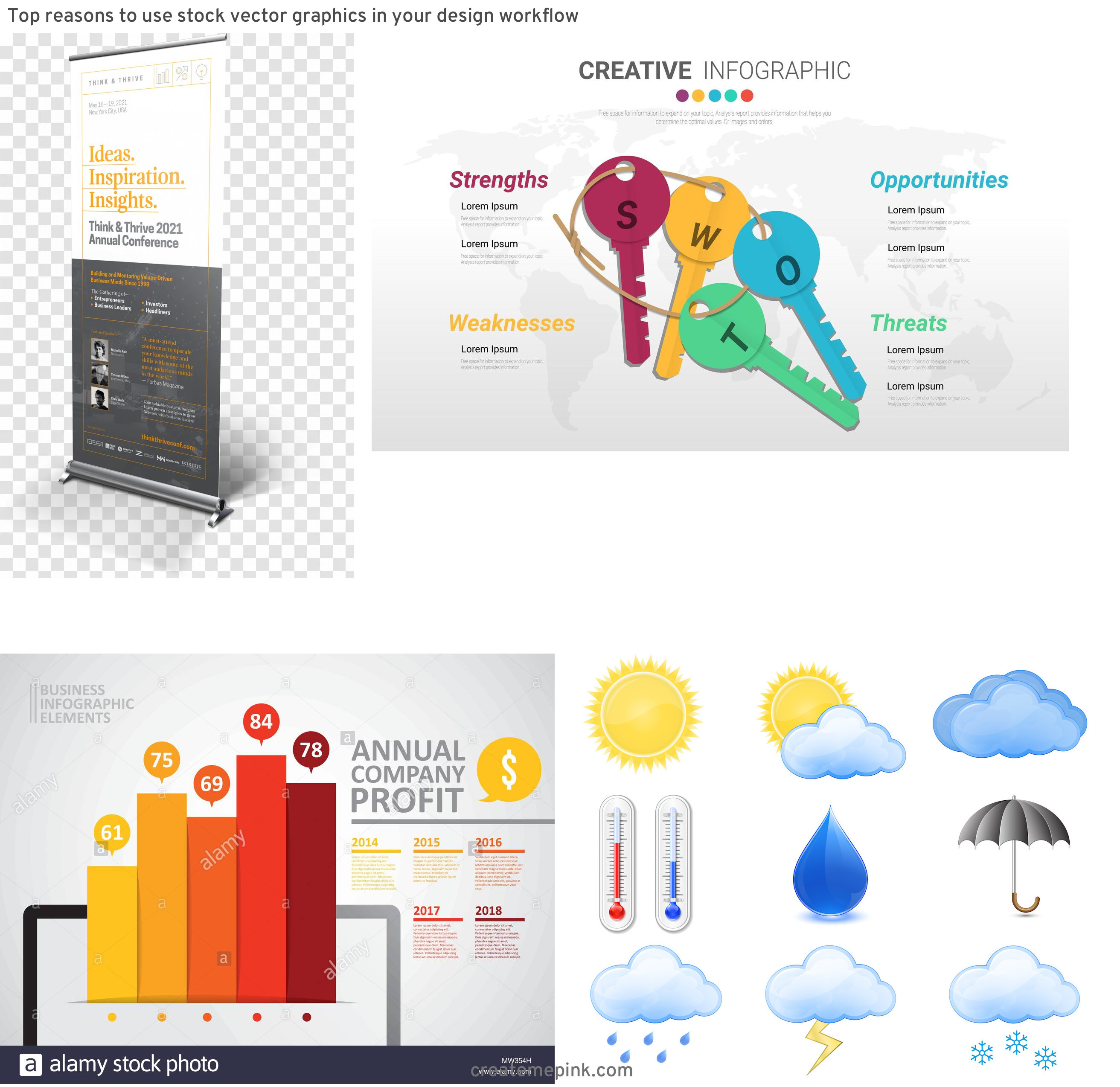Vector Graphics Values: Top Reasons To Use Stock Vector Graphics In Your Design Workflow