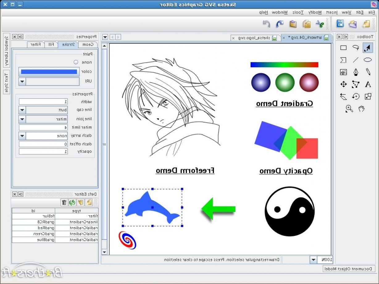 Free Vector File Software: Topsoftwaretop Free Graphic Design Software Windows