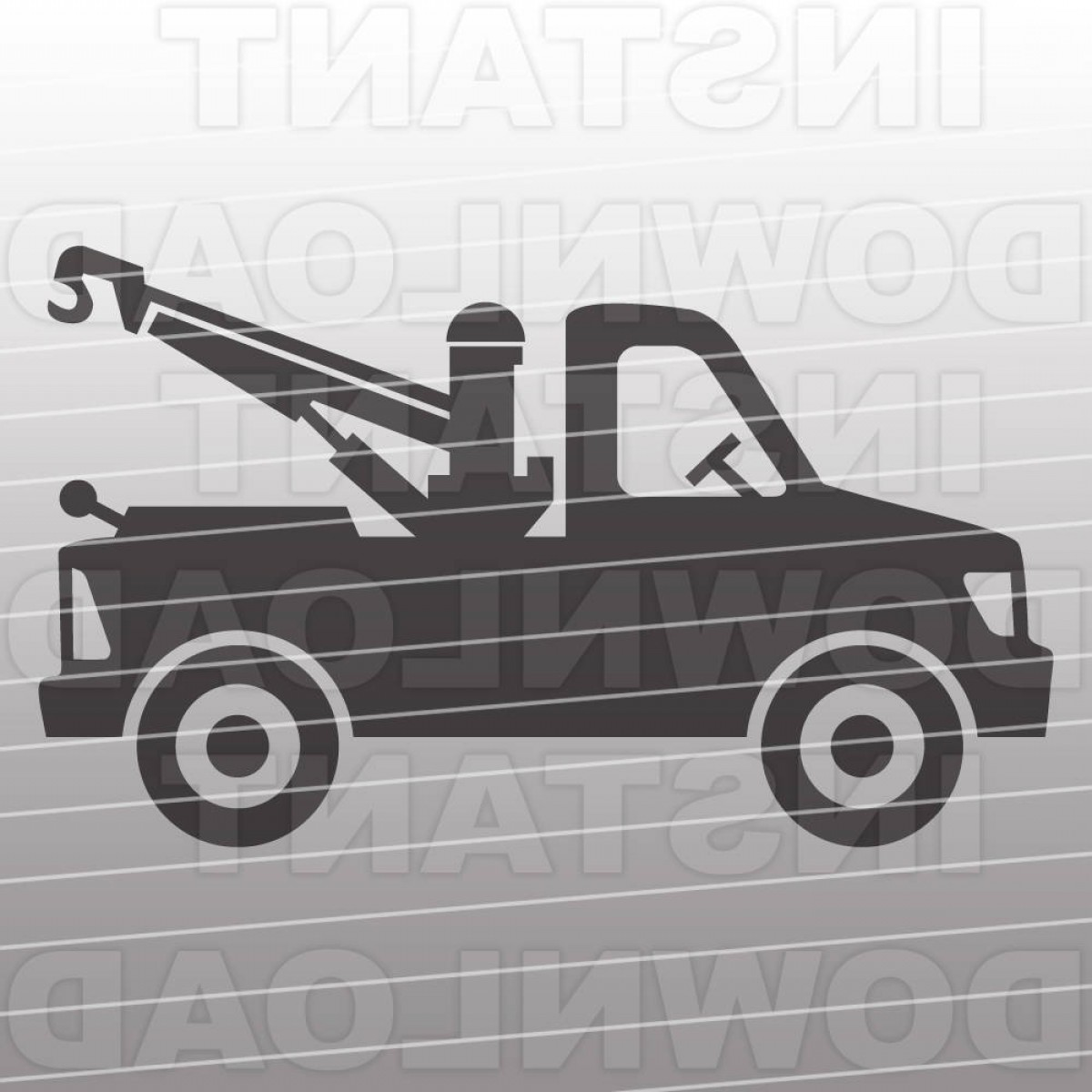 Towing Vector Clip Art: Tow Truck Svg Filetruck Svg File Cutting