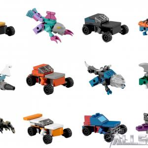 KRE-O Transformers Vector Prime: Transformers Kre O Kreon Micro Changers Series Official Pictures