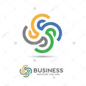 Company Logos Vector: Triangle Swoosh Of House Roof And Home Logo Vector Element Company Logo Design Image