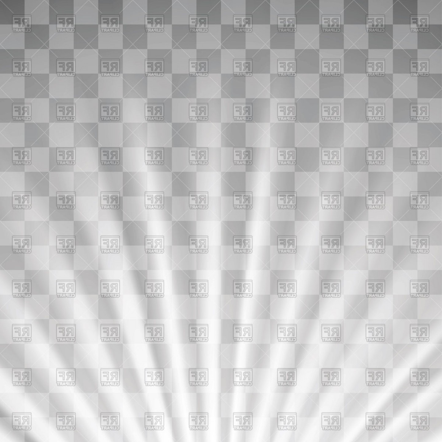 Twinkle Light Vector: Transparent Light On Gray Checkered Background Vector Clipart