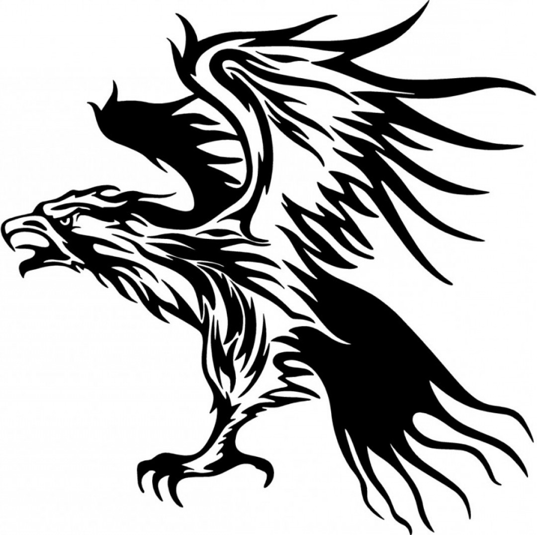Tribal Flames Vector Car: Tribal Flames Eagle Carvehicle Stickers Decal