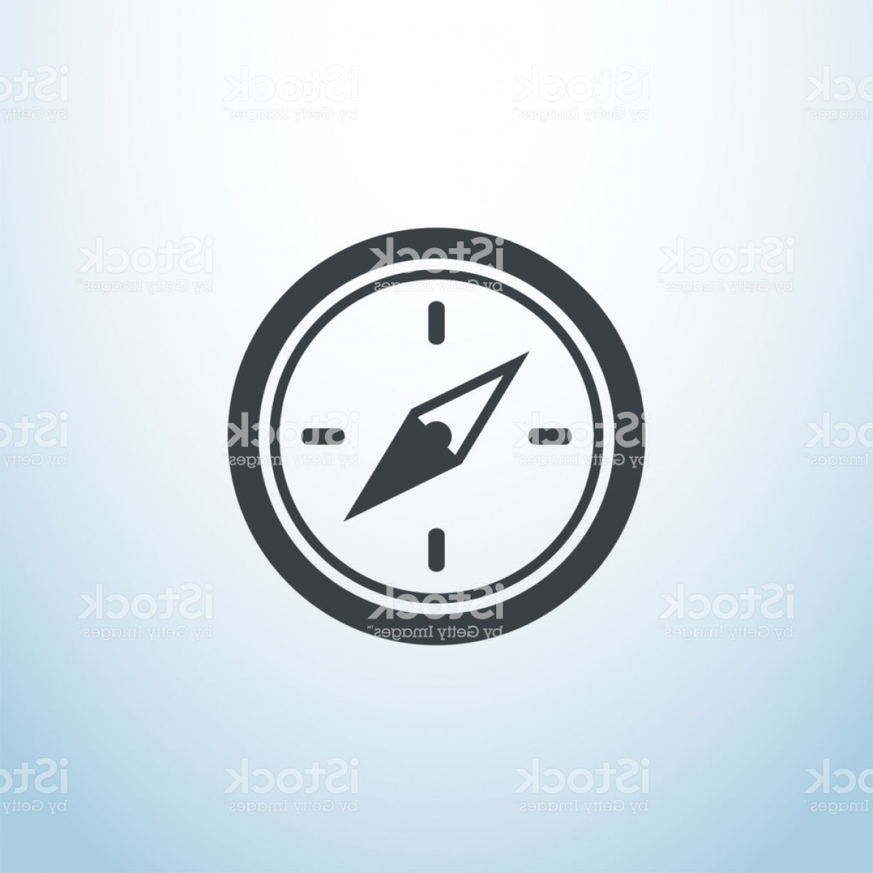 Tumblr Circle Icon Vector: Tumblr Explore Icon Vector Compas Isolated Button Eps Ui Web Symbol Logo Element Gm