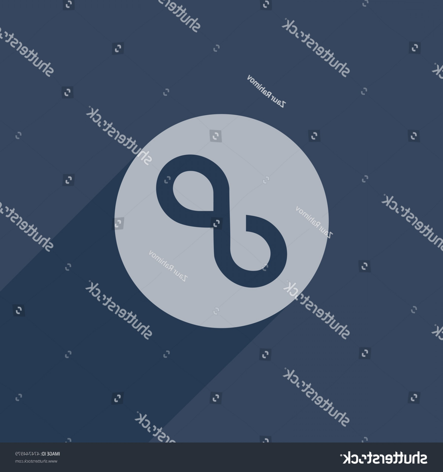 Tumblr Circle Icon Vector: Tumblr Link Icon Vector Isolated Button