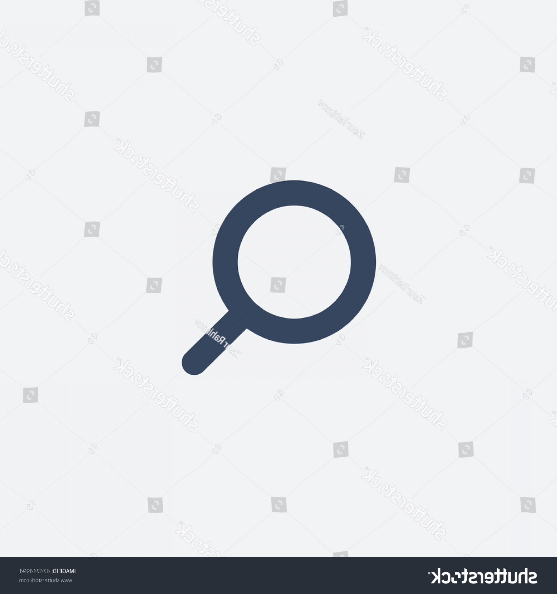 Tumblr Circle Icon Vector: Tumblr Search Icon Vector Isolated Button
